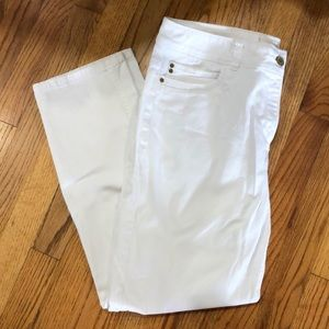 Chico's white jeans